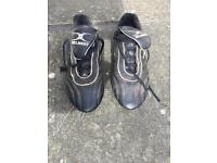 Gilbert black Rugby boots size UK 5/6