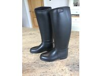 Kids horse-riding boots