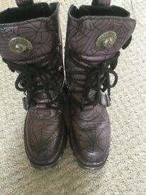 New Rock boots size 38 (uk size 5)