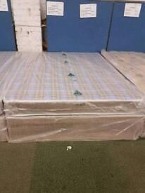 Chester standard 4.6ft double divan bed