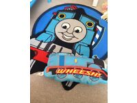 Thomas the tank engine mat and cushion