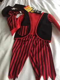 Pirate costumes BNWT