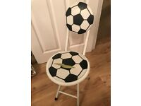 Free Foldable Football chair (damaged)