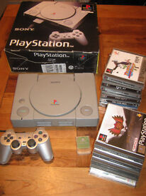SONY Playstation classic model BOXED + games
