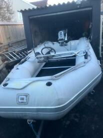 Quicksilver 14ft rib with 20hp engine