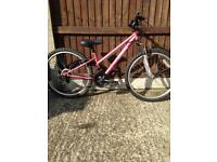 Girls Mountain Bike 24 Inch Wheels Very Good Condition