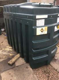 Oil tank bunded 1230 litre oil tank can be delivered other tanks available