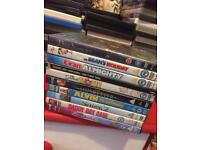 Job lot of around 80 DVD's