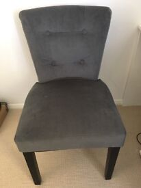 Vintage grey chair