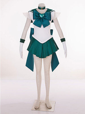 Cosplay Sailor moon Sailor Neptune Kaioh Michiru Super - Super Sailor Moon Kostüm
