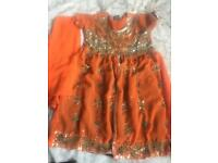 Asian dress with shalwar size 34 £25