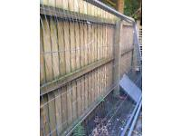Block and Mesh fencing