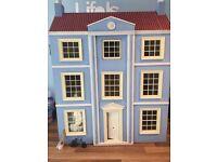 Dolls House Emporium Dolls House with unbuilt conservatory