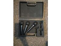 For Sale~ x3 Behringer XM1800s Microphones, with hard case £10! Collection only
