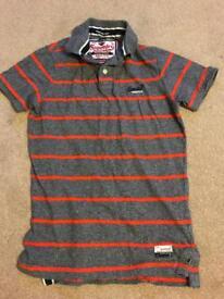 Superdry striped Polo Shirt Men's Medium