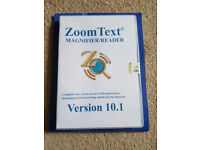 Zoomtext 10.1 Magnifier / Reader Software