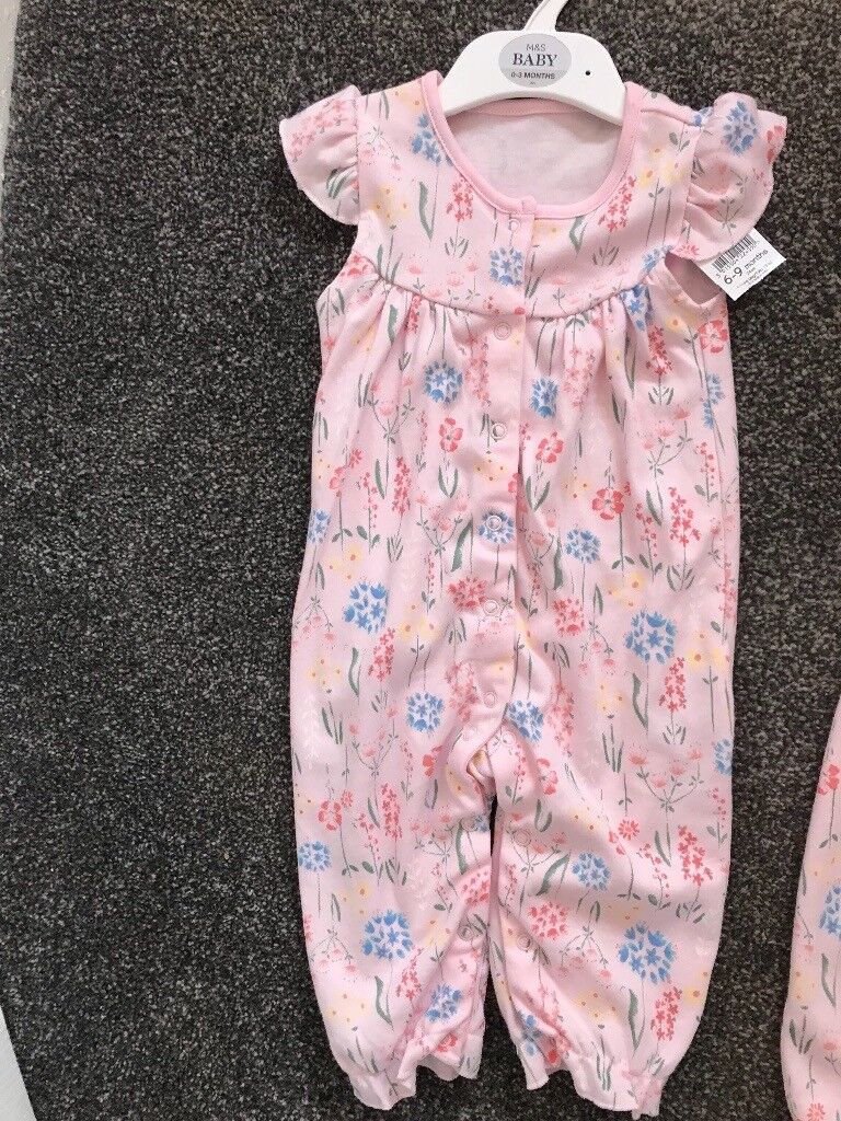 Girls rompers x2 nwt