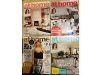 FREE At Home - four magazines