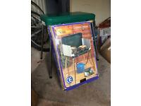 Camping stove and 4.5kg butane bottle