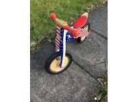 """Kiddimoto """"Kurve"""" balance bike"""