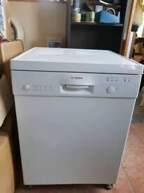 Bosch White Dishwasher