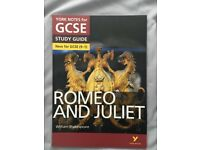 NEW York Notes GCSE Romeo and Juliet English Literature Text Book (1-9)