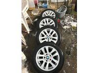 BMW Rims with Good Tyres