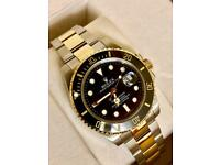 Rolex bi Metal submariner black face £250