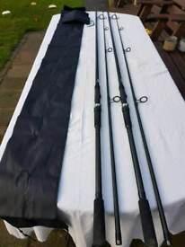2 carp rods 12ft 2.50tc