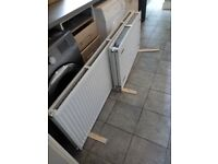 Revive 600h x 1800l Double Premium Radiator (P+) - 6 months old mint condition