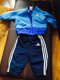 Adidas baby boy track suit. Size 3-6 months