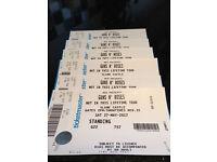 X2 Guns N' Roses Tickets