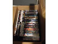Big box of dvd's