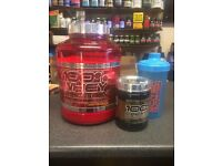 Scitec 100% Whey Protein Professional 2850g Free 100% Creatine Shaker AMI-NO Xpress Sample
