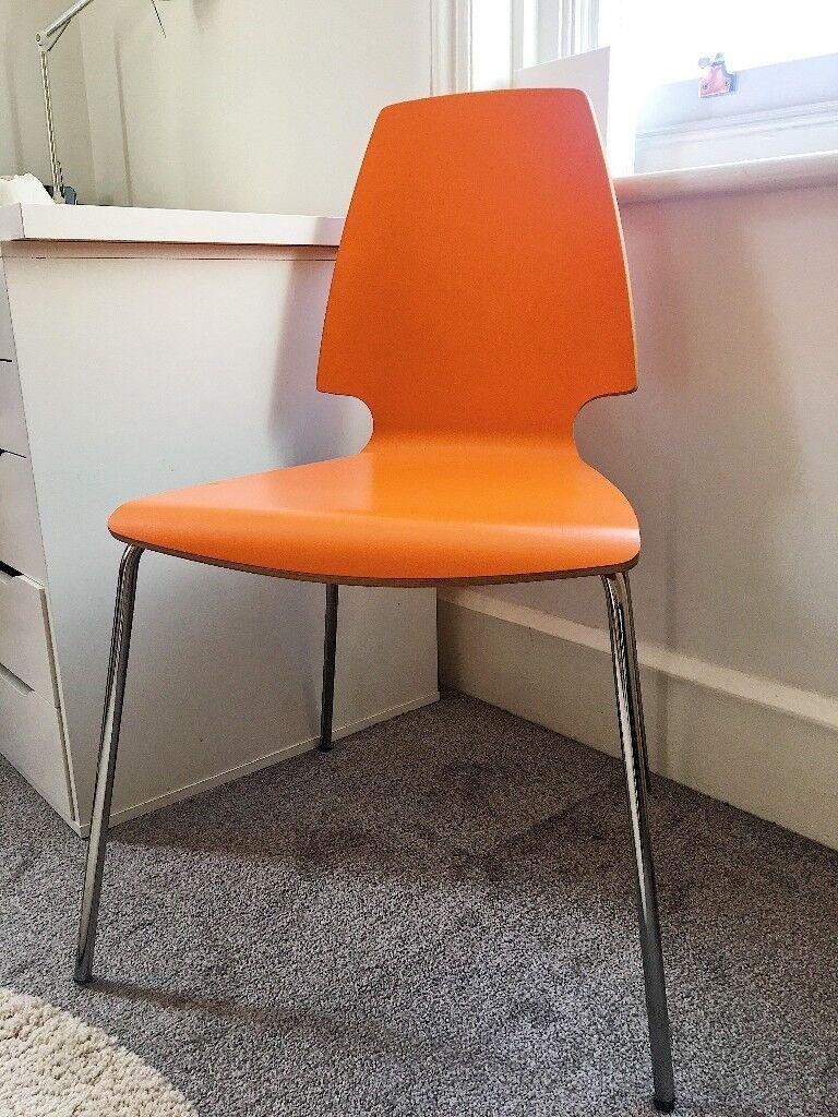 Ikea Chair Orange