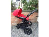 Quinny Moodd Red Stroller / Pushchair