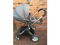Stokke Crusi Pram/Travel System for Sale - Airdrie. SOLD