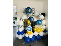 Balloon packages for birthdays/baby shower