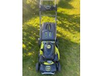 Ryobi self Propelled Petrol lawnmower VGC serviced Sharpened mower excellent cond. trade in welcome
