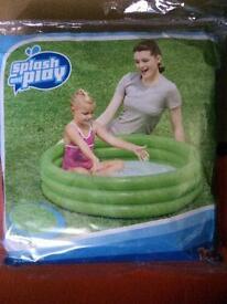 Kids garden pool