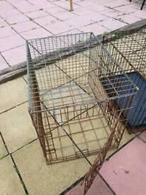 2 dog crates