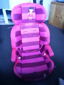 Cosatto car seat pink