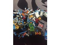 1980's fisher price construx pieces