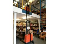 Robur lifting device with metal cage. £750 Forklift