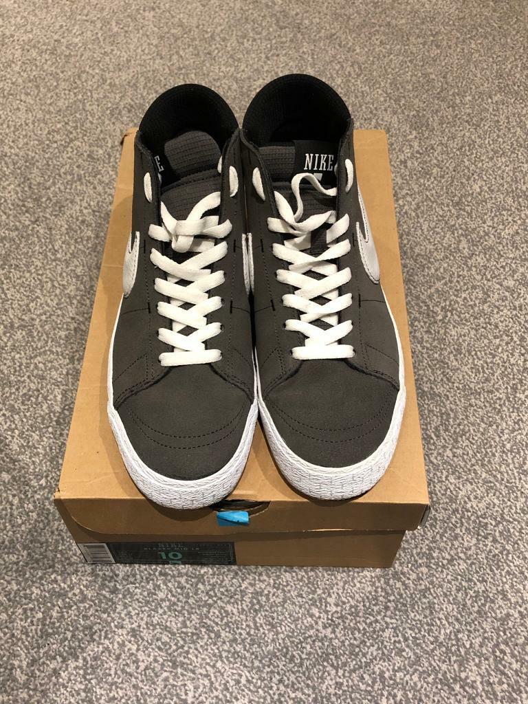 7a6d51af20 Nike Blazer Mid LR Midnight Fog (Grey) Mens UK 9