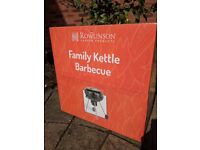 Kettle BBQ *brand new and unused* (reduced price)