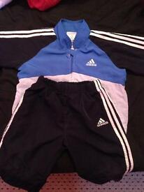 Addidas tracksuit 2-3yrs
