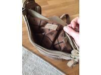 Cefiro leather bag