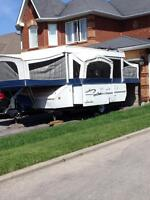 Extra Large Hard Top Tent Trailer for rent