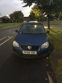 VW POLO,3DOOR,2005 low on insurance,12 Months MOT and in very good condition